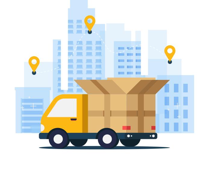 Réseau de transporteurs professionnels