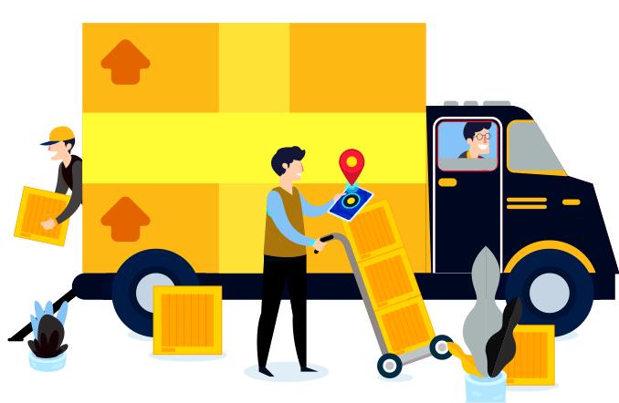 réseau de transporteurs professionnels de marchandises à Lomé